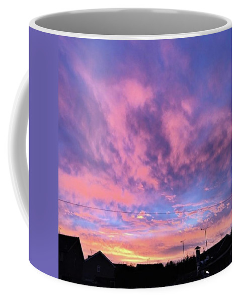 Natureonly Coffee Mug featuring the photograph Tonight's Sunset Over Tesco :) #view by John Edwards