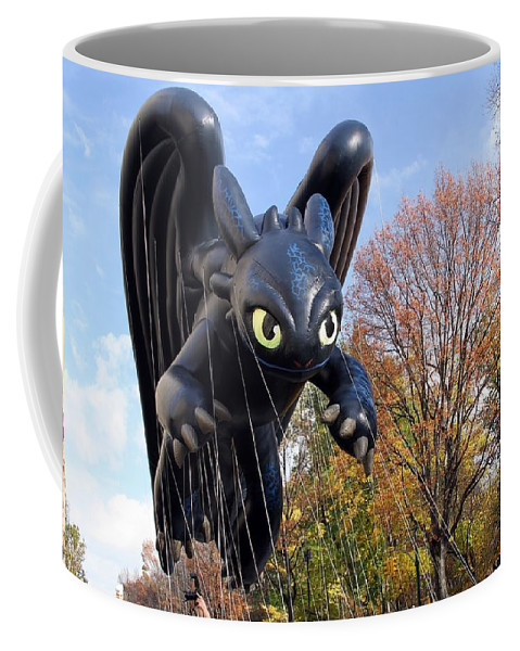 Toothless Coffee Mug featuring the photograph Toothless by Christopher Miles Carter