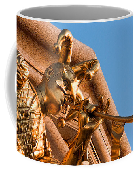 Christopher Holmes Photography Coffee Mug featuring the photograph Tooting His Own Horn by Christopher Holmes