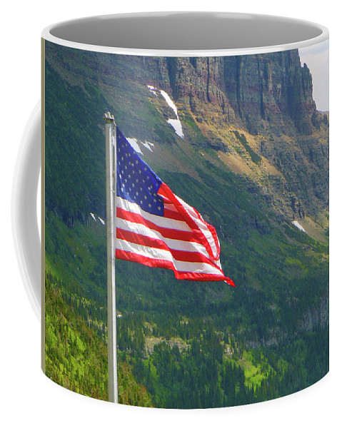 Montana Coffee Mug featuring the photograph Top Of The Continental D. by Dan Dixon