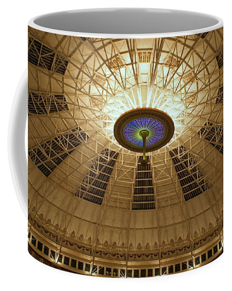 Domes Coffee Mug featuring the photograph Top Of The Dome by Sandy Keeton