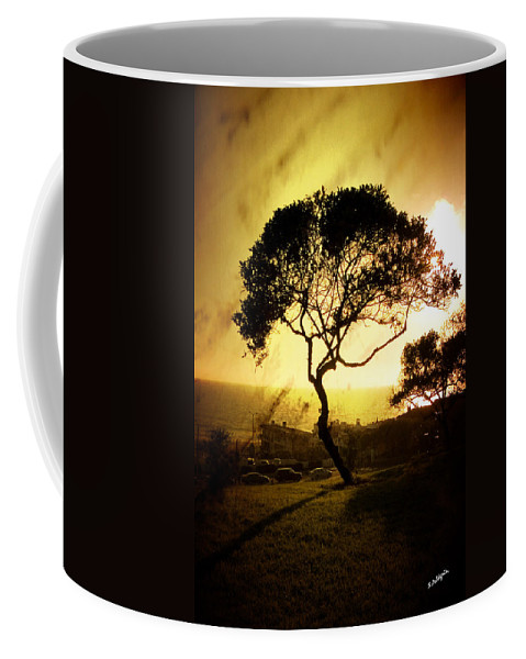Tree Coffee Mug featuring the photograph Top Of The Hill by Scott Pellegrin