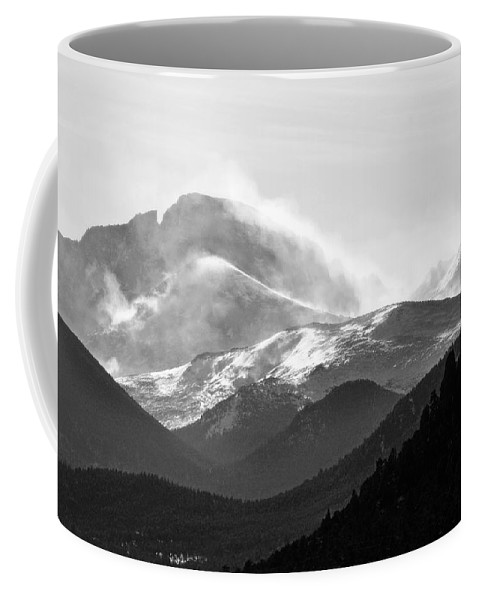 Top Coffee Mug featuring the photograph Top Of The World by Marilyn Hunt