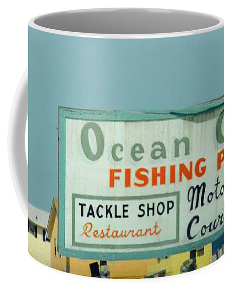 Topsail Coffee Mug featuring the photograph Topsail Island Ocean City 1996 by Betsy Knapp