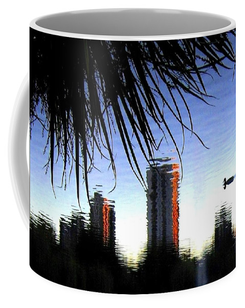 Sunset Coffee Mug featuring the photograph Topsy-turvy by Will Borden