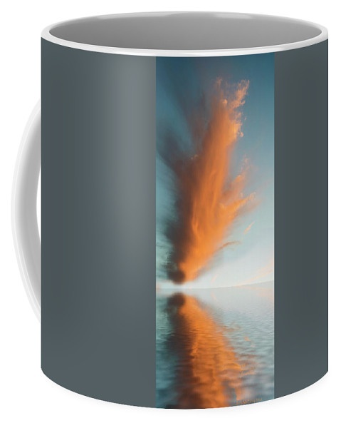 Original Art Coffee Mug featuring the photograph Torch Of Freedom by Jerry McElroy