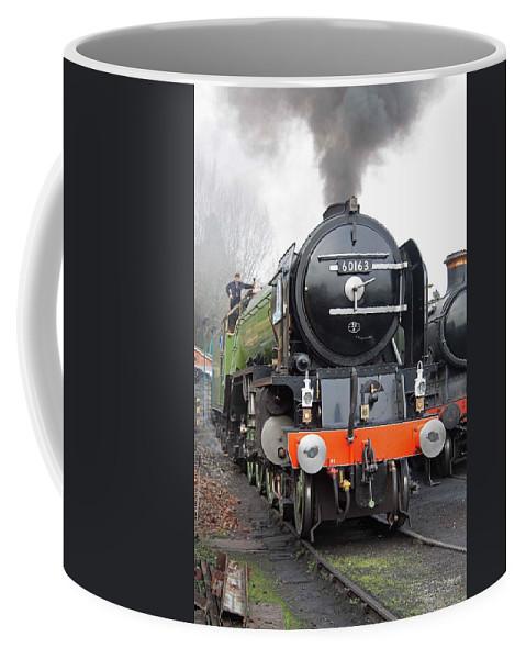 Steam Coffee Mug featuring the photograph Tornado Living Steam by Bob Kemp