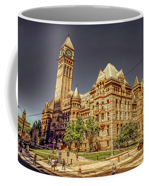 Michael Setiabudi Coffee Mug featuring the photograph Toronto Old City Hall by Michelle Saraswati