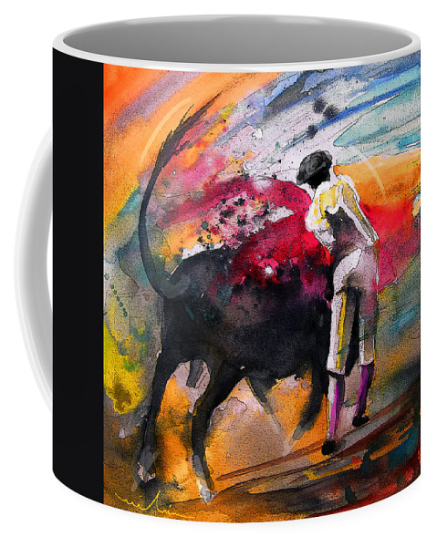 Animals Coffee Mug featuring the painting Toroscape 53 by Miki De Goodaboom