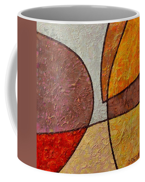 Mixed Media Coffee Mug featuring the mixed media Touch by Dragica Micki Fortuna