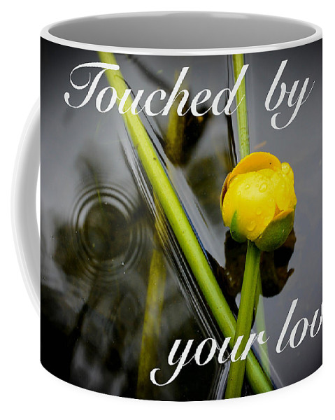 Drop Coffee Mug featuring the photograph Touched By Your Love by Lisa Kilby