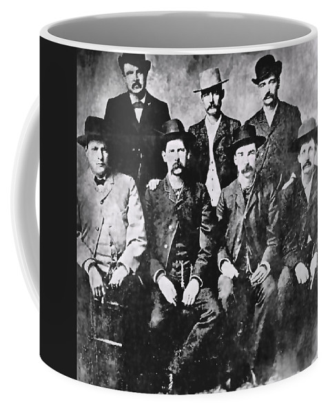 men Of The Old West Coffee Mug featuring the photograph Tough Men Of The Old West by Daniel Hagerman