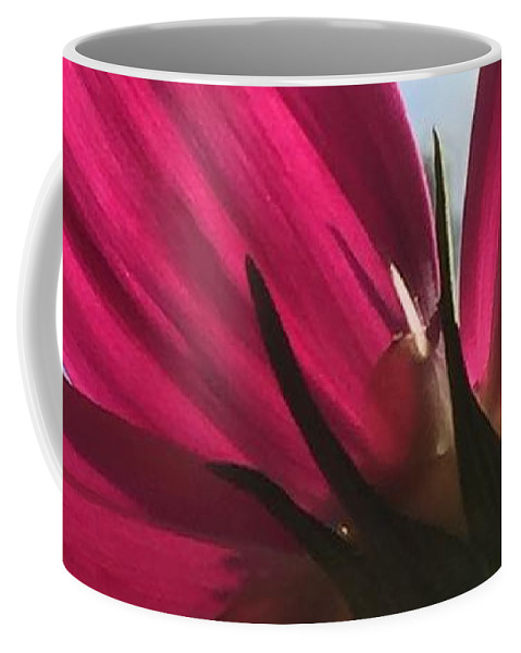 Flower Coffee Mug featuring the painting Toward the Light by Vonda Drees