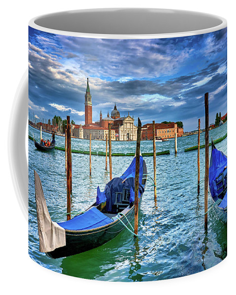 Custom coffee mug with picture of Venice