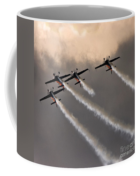 Blades Extra 300 Coffee Mug featuring the photograph Towards The Skies by Angel Tarantella
