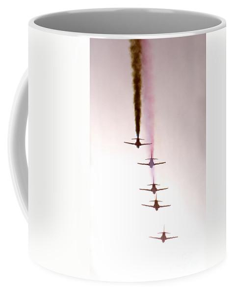 Red Arrows Coffee Mug featuring the photograph Towards The Sun by Angel Tarantella