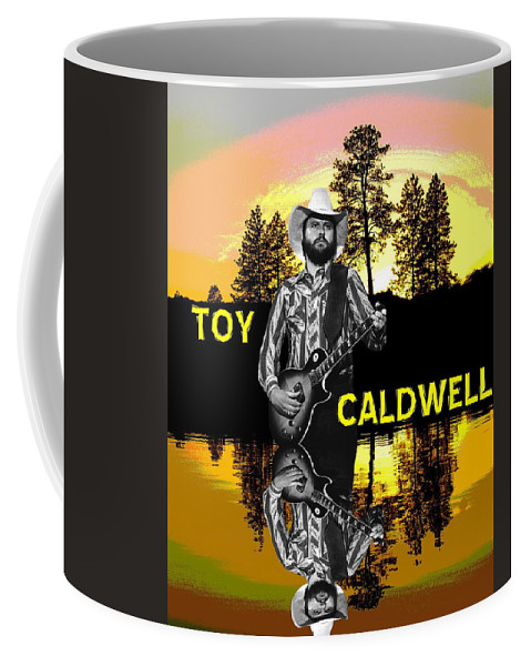 Marshall Tucker Band Coffee Mug featuring the photograph Toy Caldwell At Amber Lake 2 by Ben Upham