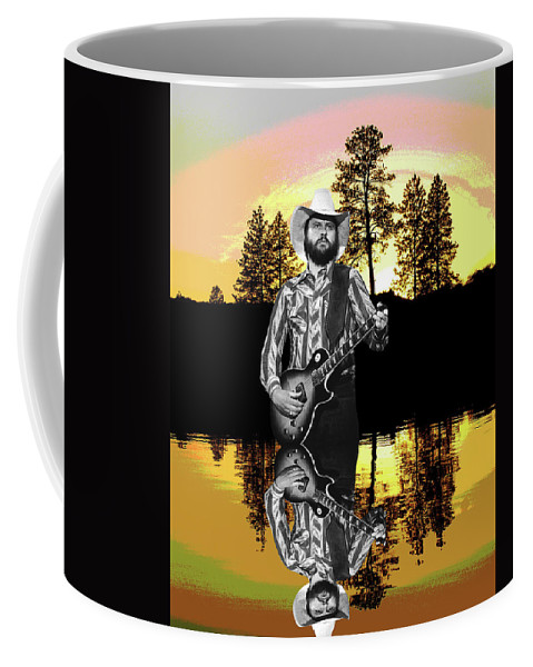 Marshall Tucker Band Coffee Mug featuring the photograph Toy Caldwell At Amber Lake by Ben Upham