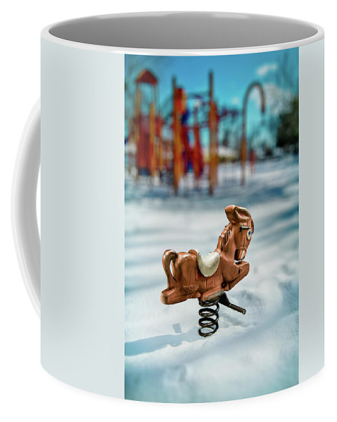 Exterior Coffee Mug featuring the photograph Toy Mule by Yo Pedro