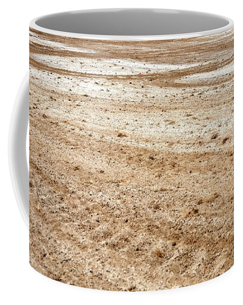 Ag Coffee Mug featuring the photograph Tracks And Turns by Jerry Sodorff