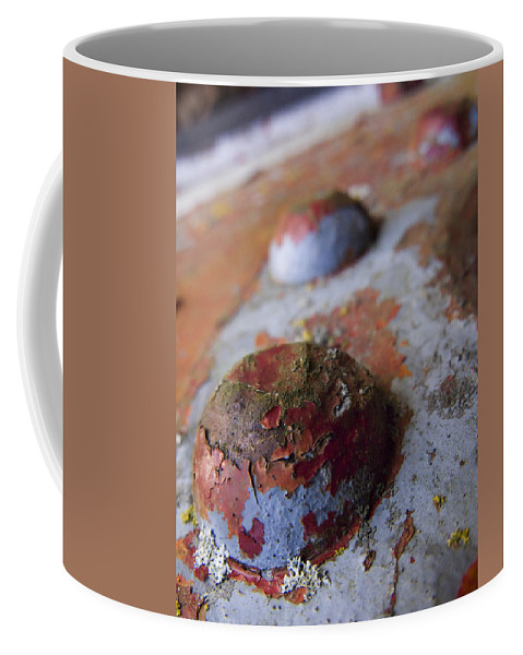 Bolt Coffee Mug featuring the photograph Tractor Island by Jeffery Ball