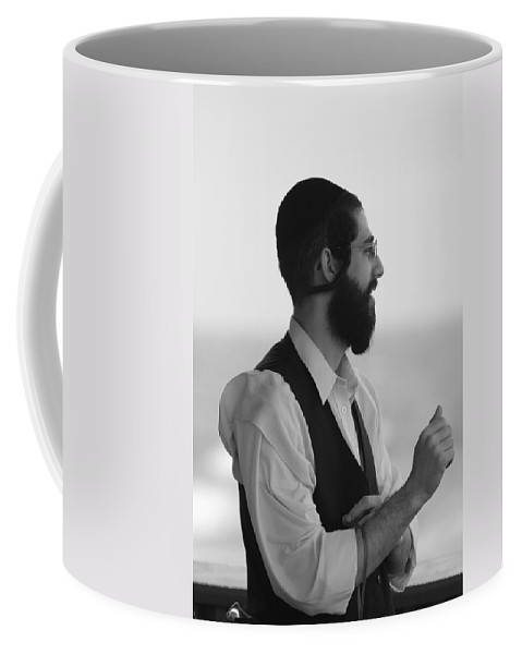 Black And White Coffee Mug featuring the photograph Tradition by Rob Hans