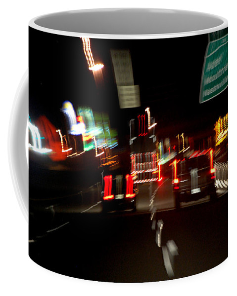 Cars Coffee Mug featuring the photograph Traffic by Robert Meanor