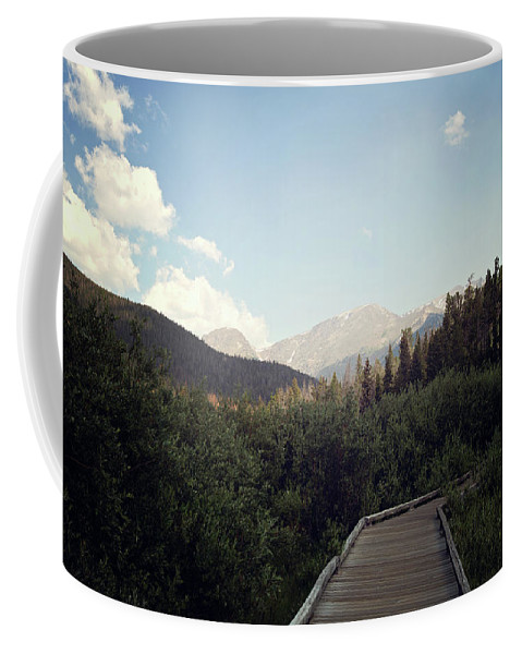 Landscapes Coffee Mug featuring the photograph Trail Ridge Road by Sue Collura