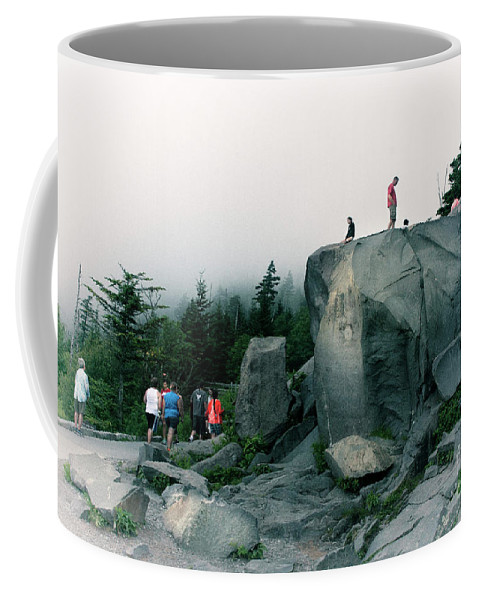 2016 Coffee Mug featuring the photograph Trailhead by Larry Braun