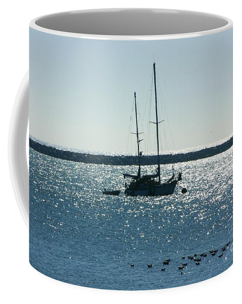 Seascape Coffee Mug featuring the photograph Tranquil Bay by Carol Groenen