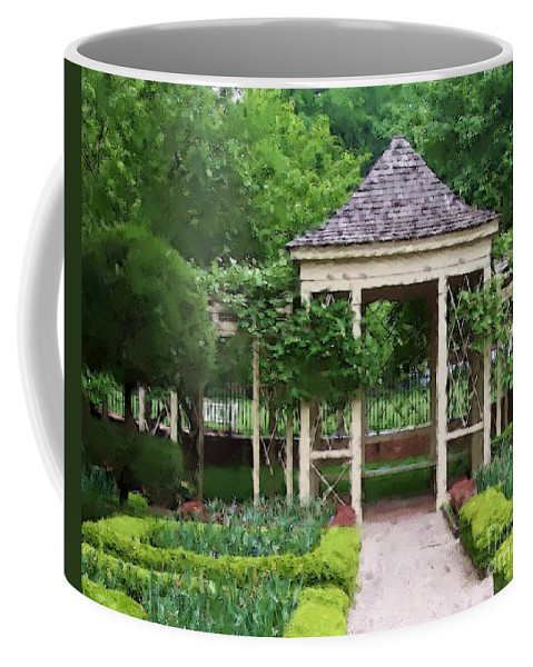 Garden Coffee Mug featuring the photograph Tranquil by Debbi Granruth