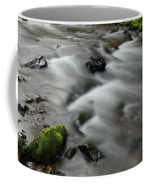 Water Coffee Mug featuring the photograph Tranquil Shores by Jeff Swan
