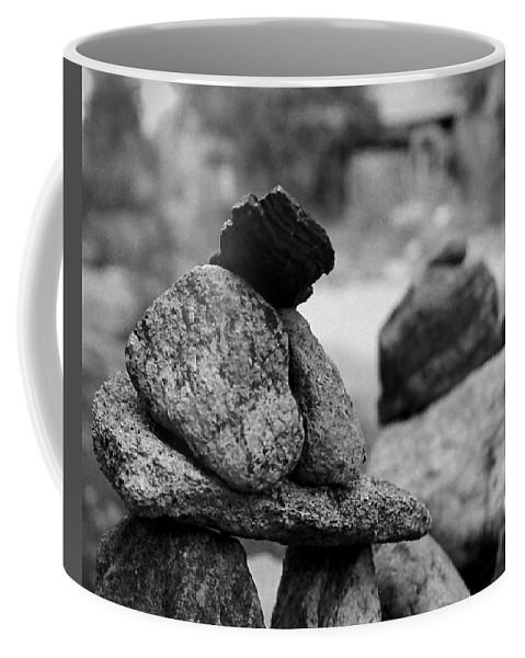 Buddhist Coffee Mug featuring the photograph Tranquility Rocks Buddhist Monastery Carmel Ny by Joseph Mari