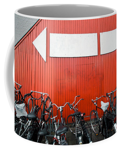 Lawrence Coffee Mug featuring the photograph Transportation And Direction by Lawrence Boothby