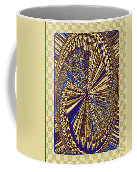 Treasure Trove Coffee Mug featuring the digital art Treasure Trove Beyond by Will Borden