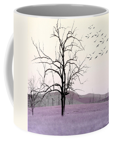 Tree Coffee Mug featuring the photograph Tree Change by Holly Kempe