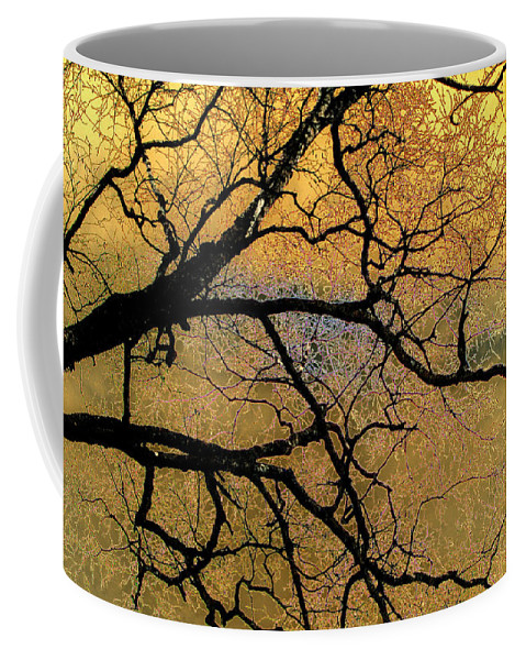 Scenic Coffee Mug featuring the photograph Tree Fantasy 7 by Lee Santa