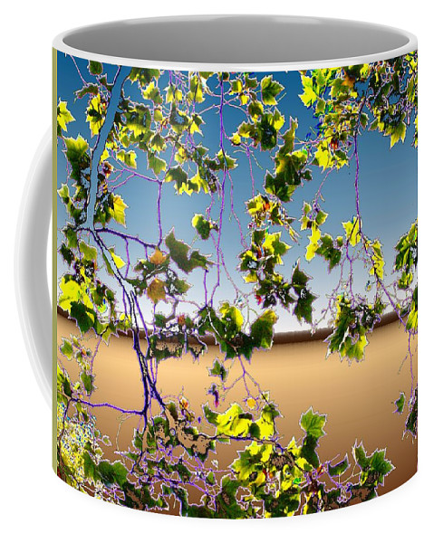 Tree Coffee Mug featuring the photograph Tree Leaves by Tim Allen
