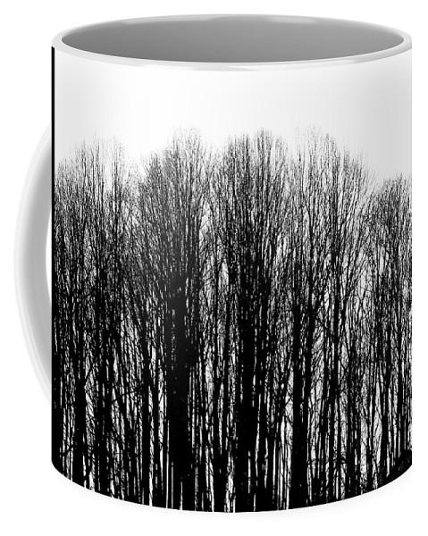 Tree Coffee Mug featuring the photograph Tree Lined by Deborah Crew-Johnson