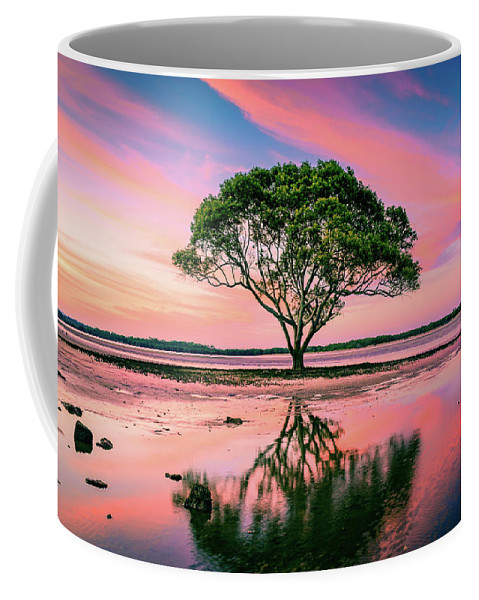 Australia Coffee Mug featuring the photograph Tree Of Life by Cameron Richardson