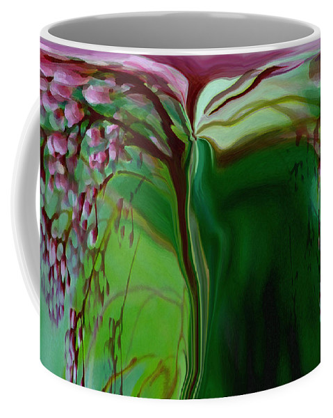 Tree Life Art Coffee Mug featuring the digital art Tree Of Life by Linda Sannuti