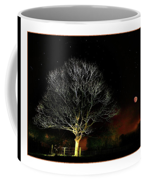 Tree Coffee Mug featuring the photograph Tree Of Light by Mal Bray