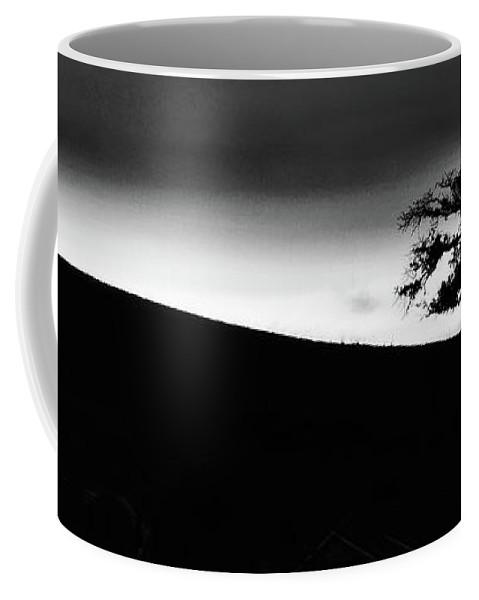 Coffee Mug featuring the photograph Tree Tilight Long by Blake Richards