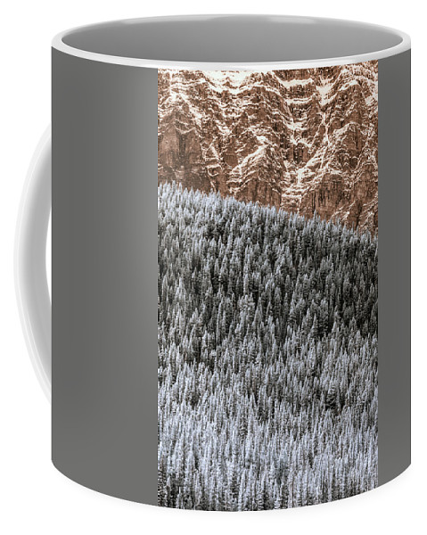 Ir Coffee Mug featuring the photograph Rock, Paper, Scissors by Joseph Yvon Cote