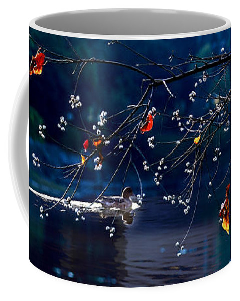 Water Coffee Mug featuring the photograph Trees In Japan 5 by George Cabig