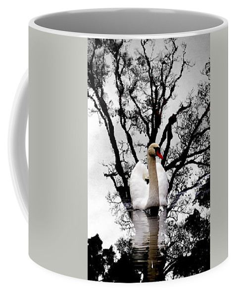 Water Coffee Mug featuring the photograph Trees In Japan 6 by George Cabig