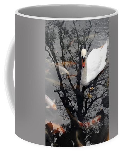 Water Coffee Mug featuring the photograph Trees In Japan 7 by George Cabig