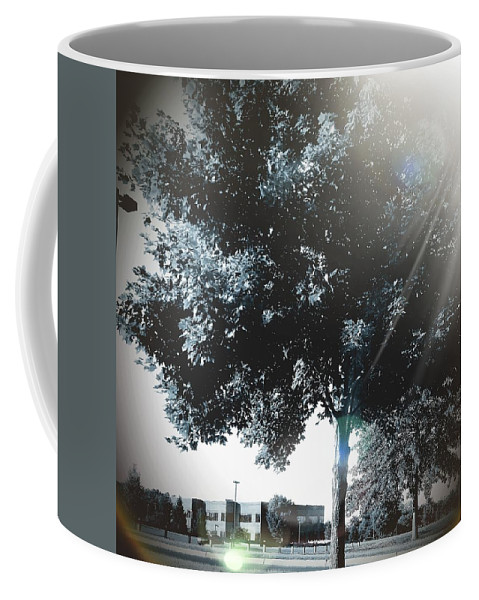 Tree Coffee Mug featuring the digital art Treeson by Katie Irwin Flather
