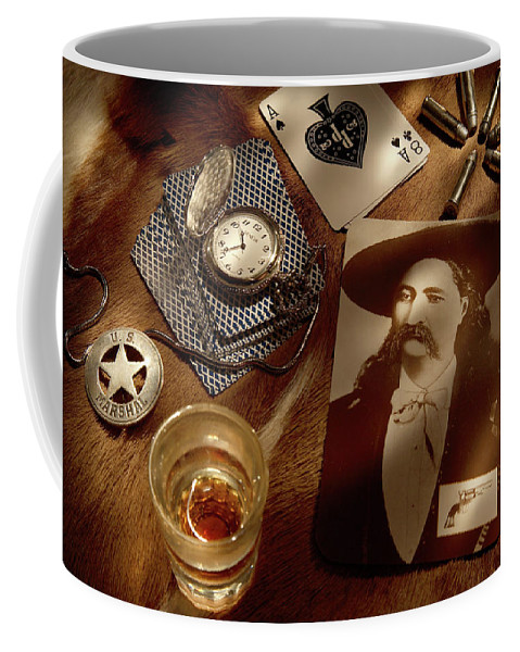 Wild Bill Coffee Mug featuring the photograph Tribute To Wild Bill by Daniel Alcocer