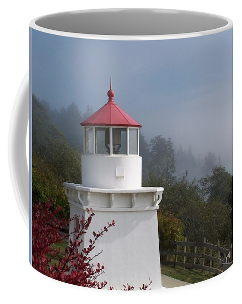 Lighthouse Coffee Mug featuring the photograph Trinidad Head Lighthouse by Gale Cochran-Smith